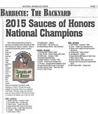 Nation BBQ News article announcing placements