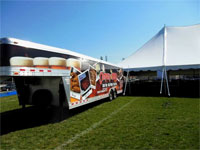 Company 7 BBQ's Outdoor Catering Trailer