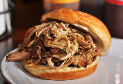 Delicious Pulled Pork Sandwich